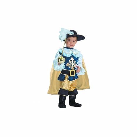 Dress Up America Set di costumi per bambini Deluxe Moschettiere 74efe77aad91