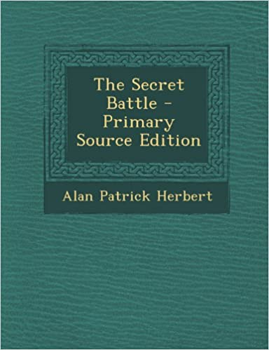 Book The Secret Battle