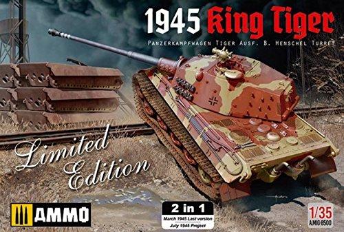 (Ammo Mig Jimenez Panzerkampfwagen Tiger Ausf. B. Henschel Turret 1945 King Tiger Limited Edition 2 in 1 Nr. A.MIG-8500 - 1:35)
