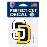 San Diego Padres Perfect Cut 4x4 Premium Auto Decal
