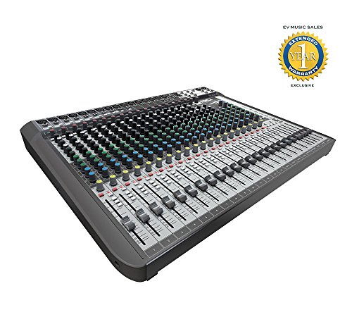 Soundcraft Signature 22 MTK High-Performance 22-input Small Format Analoge Mixer with 1 Year Free Extended Warranty