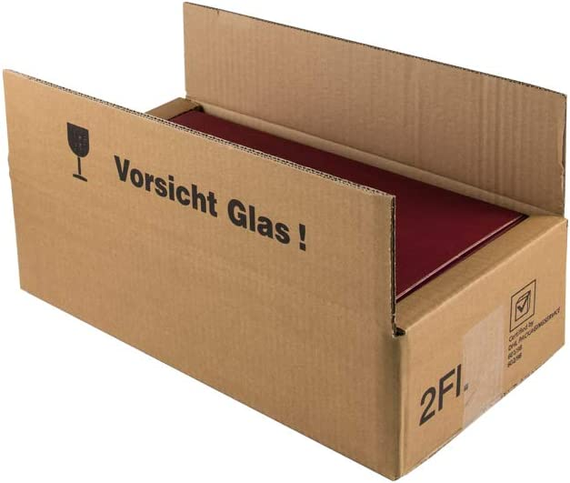 Caja de cartón para paquetes de regalo de vino DHL probado. 5 unidades. Caja de cartón para envío seguro de cajas de regalo. 2er | 5 Stück: Amazon.es: Oficina y papelería