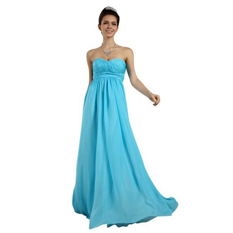Atemberaubend Himmel Blau Kleider Für Eine Hochzeit Ideen ...