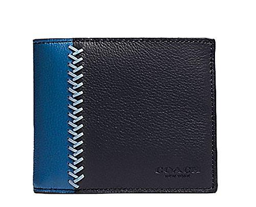 Coach Baseball Stitch Leather Wallet