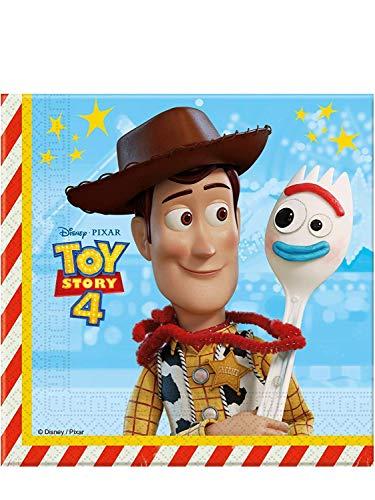 Toy Story 4 Party Supplies 54 Piezas de cumpleaños vajilla Toy Story Party Decoration Pack para 16
