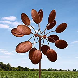 "Amazon.com: 84"" Big Modern Art Kinetic Wind Sculpture"