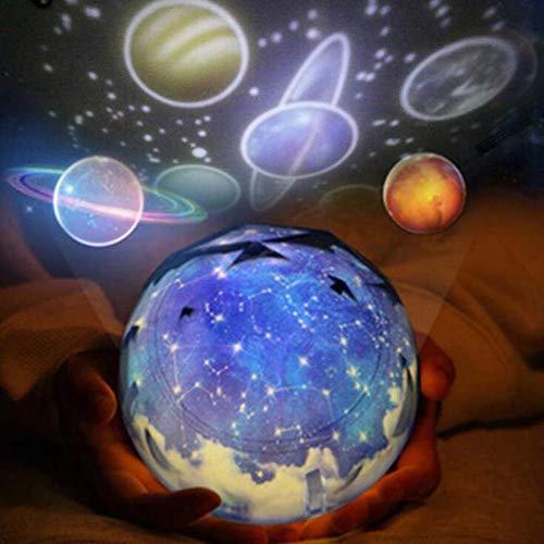 LDAKLE Magic Planet Proyector Led Universo De Luz Nocturna 3D ...