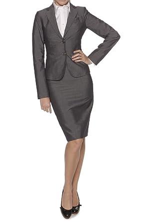 22e1d31c8 BOSS Hugo Skirt Suit JAVITA/VERONICE, Color: Dark Grey, Size: 32:  Amazon.co.uk: Clothing