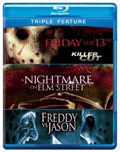Halloween Vs Friday 13th (Friday the 13th / Nightmare on Elm St / Freddy Vs (Triple-Feature))