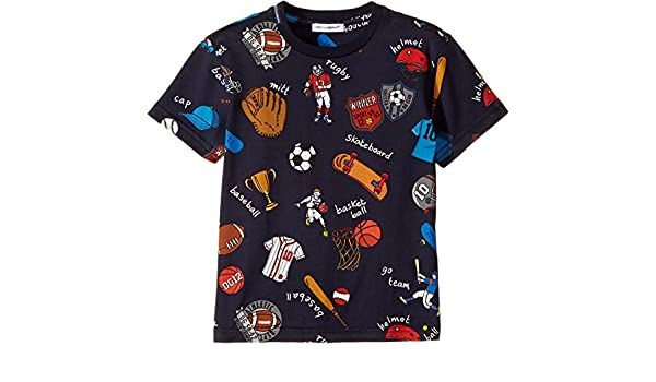 1f93e28c3c4d Dolce   Gabbana Kids Baby Boy s Back to School Sports T-Shirt (Toddler Little  Kids) Blue T-Shirt  Amazon.ca  Clothing   Accessories