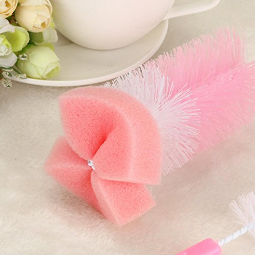 random DZT1968 2pc Baby Bottle Heat-resistant Brush Cleaner Spout Cup Glass Teapot Washing Tool Brush by DZT1968 (Image #4)