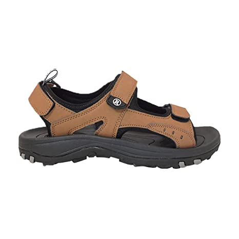 19151b2d9e98 Revelation New Men's Cool Golf Sandals Brown - Choose Your Size and Color!