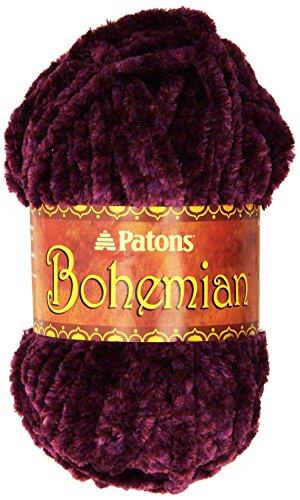 (Patons Bohemian Yarn, Peaceful Plum)
