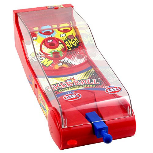Dubble Bubble Skeet Shooter Game Score Points and Win Gum Balls Arcade Action Boardwalk Style Fun Game