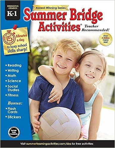 Descargar Summer Bridge Activities(r), Grades K - 1 Epub