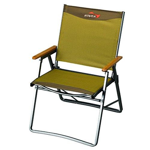 - Kovea Titan Flat Camp Chair (Olive, Medium)