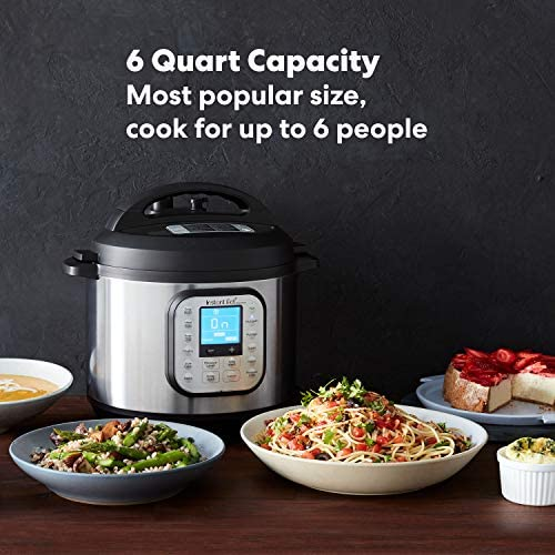51vfNRIZgAL. AC Instant Pot Duo Nova 7-in-1 Electric Pressure Cooker, Slow Cooker, Rice Cooker, Steamer, Saute, Yogurt Maker, Sterilizer, and Warmer, 6 Quart, 14 One-Touch Programs    From the manufacturer