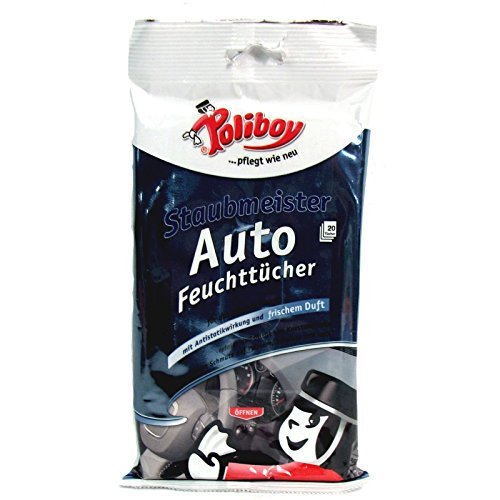 Poliboy Dustmasters voiture lingettes 20 pièces Brandt & Walther GmbH