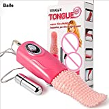 Azlove Baile Swing Vibrating Tongue - Oral Clitoral Stimulator - Clit Vibrator for Women - Adult Products Licking Toys Sex Toys Sex Product