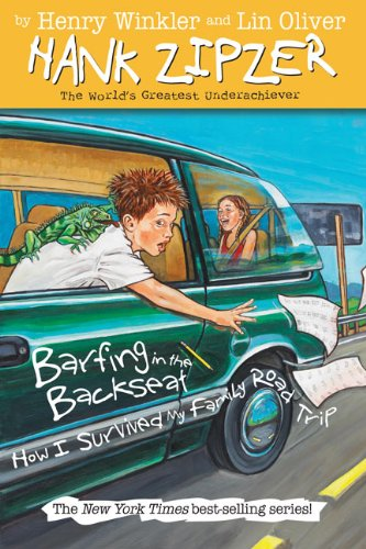 Barfing In The Backseat: How I Survived My Family Road Trip (Turtleback School & Library Binding Edition) (Hank Zipzer; The World's Greatest Underachiever (Prebound)) pdf
