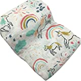 HGHG Muslin Swaddle Blankets Large Silky Soft Muslin Cotton Baby Photograph Blanket, 47x47 inches (Picture 6)