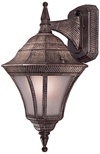 Minka Lavery Outdoor Wall Light 8202-61 Segovia Cast Aluminum Exterior Wall Lantern, 100 Watts, (Classic Cast Aluminum One Light)