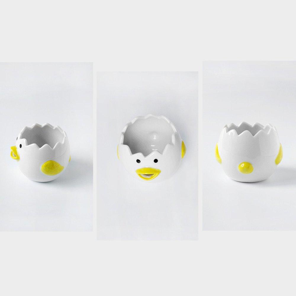 Separador de Huevos Color Blanco Acero Inoxidable LAQI Yolk