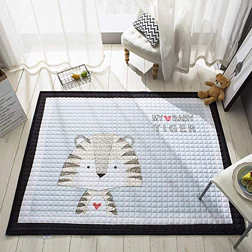 IHEARTYOU Baby Crawling Mat Cute Animal Play Carpet Children Bedroom Decor Living Room Rugs, ()