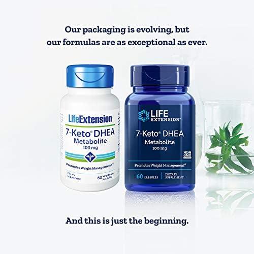 Life Extension 7-Keto dhea Metabolite, 60 Vegetarian Capsules 3