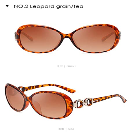Yangjing-hl Mujer Moda y Gafas de Sol Grandes Grandes Damas ...