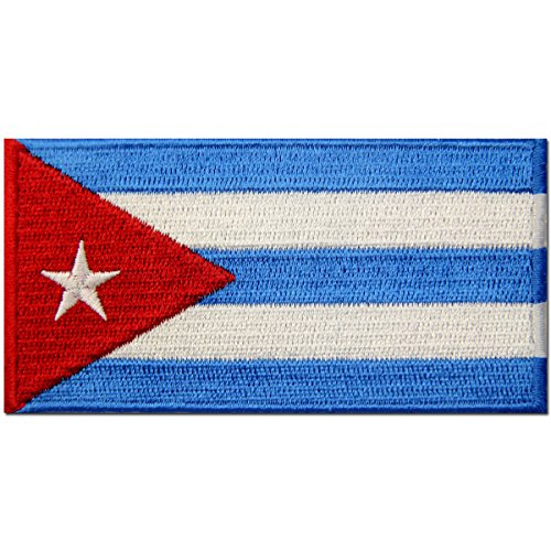 Cuba Costume (Cuba Flag Embroidered Patch Cuban Iron On Sew On National Emblem)