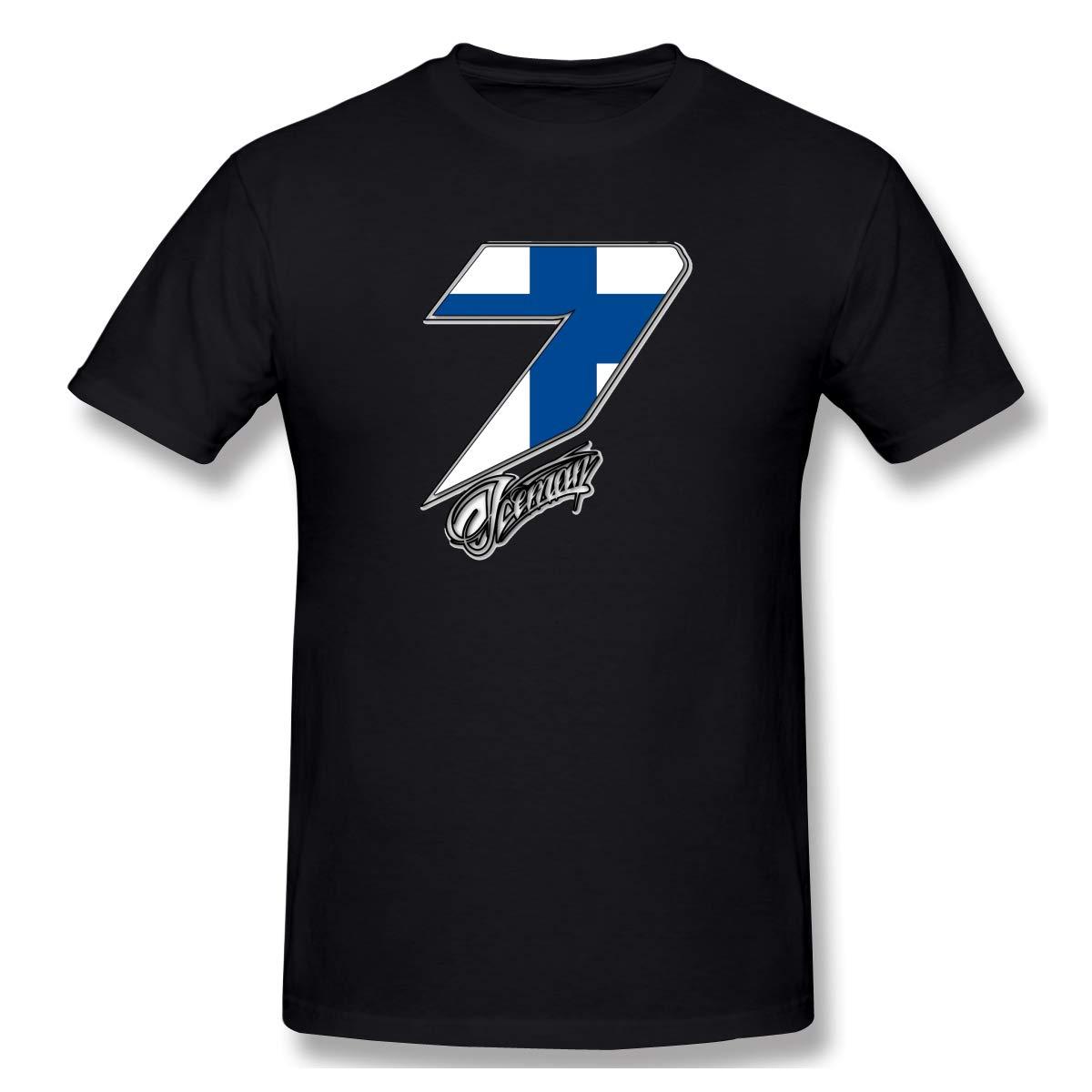 Madison Kimi R Ikk Nen 7 Print Short Sleeve Funny Shirt For And