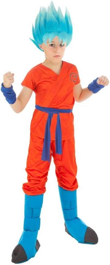 Generique - Disfraz Goku Dragón Ball Z niño 11 a 12 años: Amazon ...