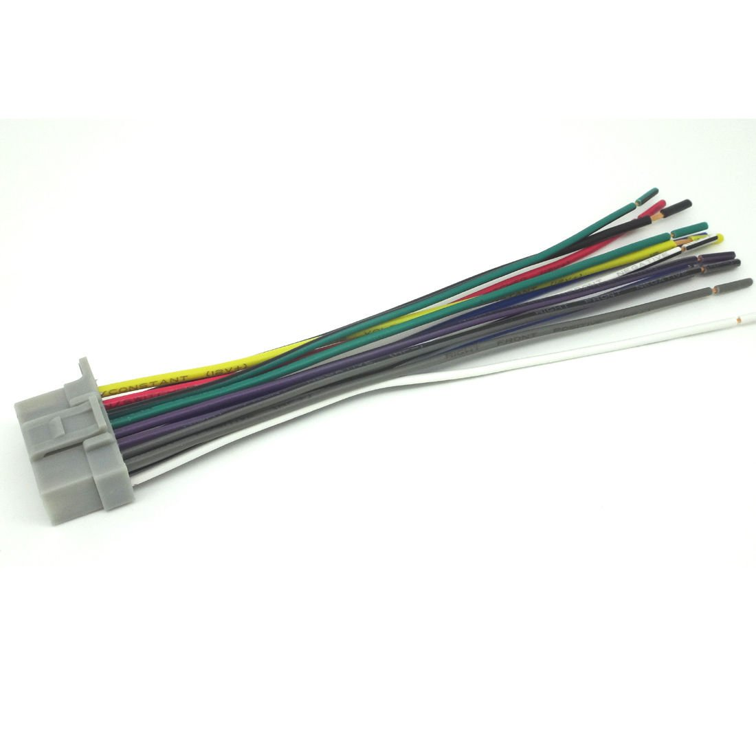 51vfQ2rLMNL._SL1100_ amazon com 16pin wire harness for panasonic cq c1303u cq c1304u panasonic cq-c1305u wiring harness at nearapp.co