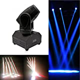 U`KING Moving Head Stage Light RGBW (4 in 1) DMX512 Rotating Stage Effect Lamp for DJ Disco Club Party Dance Wedding Bar Theater Pub Christmas Lights (SIZE A)