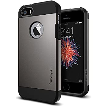 Amazon.com: Spigen Tough Armor Desigend for Apple iPhone SE ...
