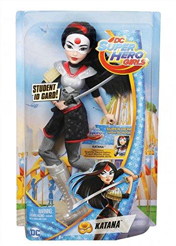 "DC Super Hero Girls Katana Action Figure Doll, 12"""