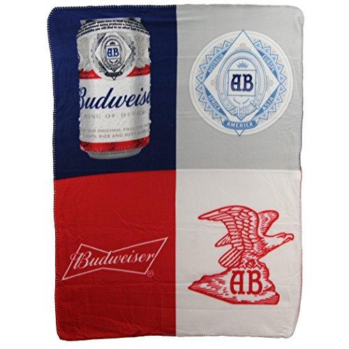 Budweiser Throw (Beer Brand Fleece Throw Blankets 46