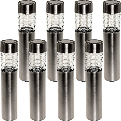 Stainless Steel Outdoor Bollard Lighting - 8