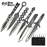 Ridge Runner 6 Piece Lightning Throwing Knives