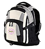 Personalized Volleyball 2 Urban Backpack (Grey/Black/Stone)