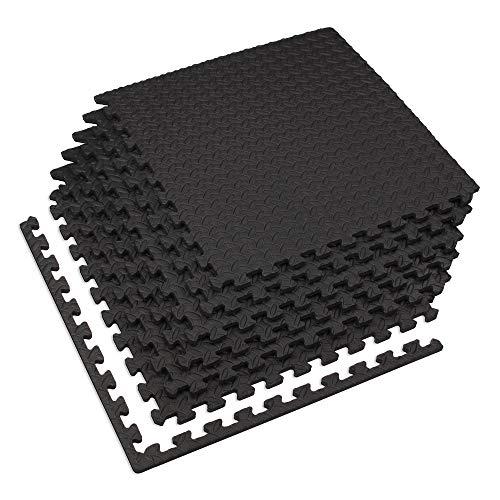 Diamond Series Edge (Velotas black, 100 sq' (25 Tiles) black 1/2