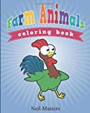 Farm Animals Coloring Book, Neil Masters, 1630226491