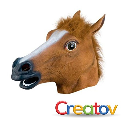 Horse Head Mask Costume Accessory (Animal Muppet Costume Head)