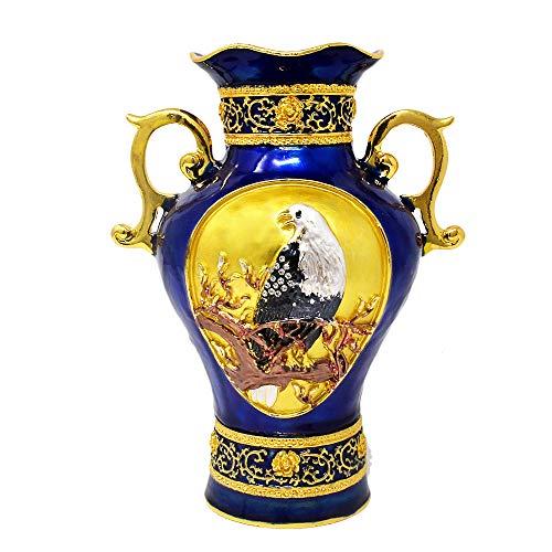 Feng Shui Treasure Vase (Blue) New W3781