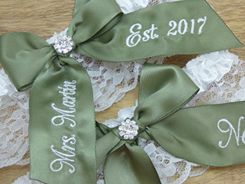 moss-green-bridal-garter-youre-next-wedding-garter-set-custom-garters