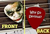 Set of 3 Joker Why So Serious Batman The Dark Knight Heath Ledger Promo Premium Guitar Picks