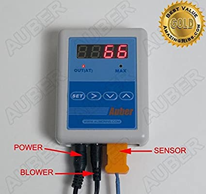 Auber Instruments PID Temperature Controller for Smoker/BBQ