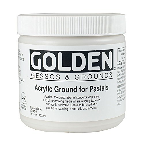 Golden Acrylic Ground - Golden Artist Colors - Acrylic Ground for Pastels 16oz. (473 ml) jar