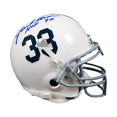 Jack Ham Autographed Penn State Nittany Lions Mini Helmet - JSA COA - NOTE ()
